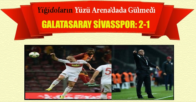 Galatasaray - Sivasspor : 2-1